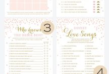Bridal Shower Ideas / Don't know what games to play at your bridal shower or if you should have a theme? No worries the bridal shower idea board has you covered!