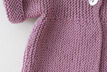 crochet tricot bébé