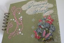 Merryweather Collection Mini Album / A mini album using the Merryweather collection from K & Company...
