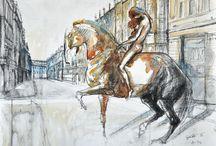 Horse Painting Legend