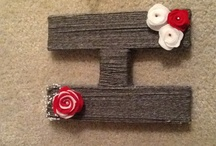 Look what I made  / Projects I've completed. Some Pinterest, some Pinterest inspired.  / by Michelle Hankins