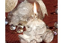 Candle Wedding Favors / Candle wedding favors often are considered romantic. What better way to spread the love of your wedding day, than with a keepsake guests can light on their own romantic evenings? http://discountweddingfavors.com/42-candle-wedding-favors / by Laura Scott