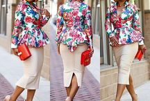 African prints coats and jackets