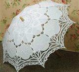 parasol de dentelle