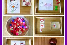 Valentine's / Montessori inspired valentines activities