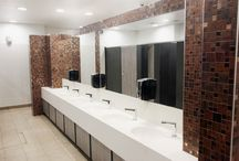 Shopping Centre Toilets / We completely fitted out and refurbished the toilets in a local shopping centre. #shoppingcentre #shoppingmall #restrooms #publictoilets