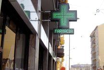 Installazioni Farmacia - Sistel Srl / Alcune delle centinaia di installazioni eseguite da Sistel Srl nelle farmacie italiane.