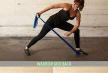 Workout: resistance band
