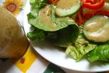 salad dressings / by Margaret Burroughs