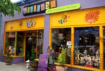 Store Fronts Past or Present / by Denise Red Flower Fanatic