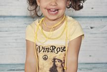 kinderkleding / Vinrose meisjes shirt van www.lievekleertjes.com