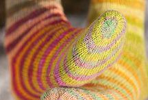 knitting for feet