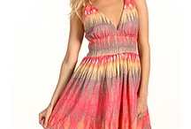Orange Beach Dress