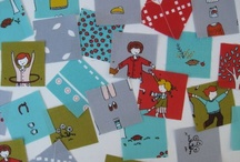 Fabulous Fabric / Beautiful modern fabric for sewing and home decor projects.