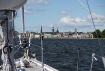 Sailing in Sweden summer 2012