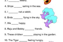 worksheets English, nouns