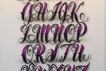Letras tattos ideas