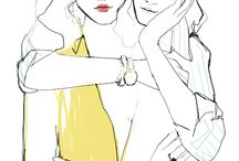 Fashion illustrations Garance Doré