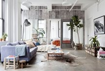 Apartment Inspiration / Ideas for designing our small apartment in Boston.