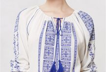Romanian traditional blouse