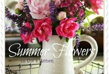 Crafty Flower Arranging / by Judy Cowling