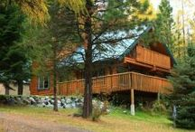 Log Cabins at Wallowa Lake
