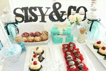 My Breakfast at Tiffany's themed bridal shower