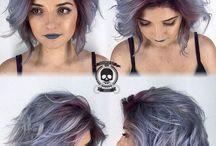 como pintar o cabelo da rebecca