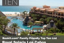 Top Ten Family Friendly All-Inclusive Resorts / Kick back and relax on the soft sand with sparkling ocean views at one of these fabulous, family-oriented all-inclusive resorts, plus enjoy the simplicity of having all meals, drinks, daily activities and nightly entertainment included!  / by BookIt.com®