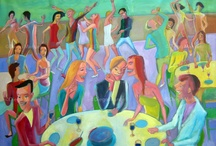 People / Gente / Diego Manuel   Artist Painter Sculptor. Abstract Art Surrealism  Pop  Realism
