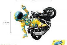 blason blouson moto