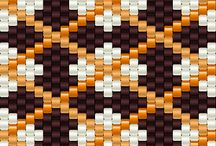 Браслет, мозаика, схема