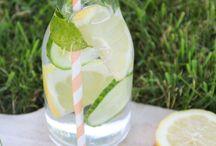 Detoxe Water fruits