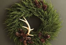 Seasonal Wreaths and Decorations / A gentle homage to nature throughout the year with wreaths to mark the passing seasons.