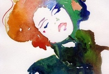 // WATERCOLOR // / by Holly Gauper