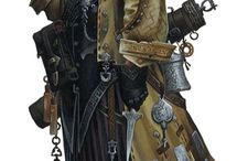 RPG Rogues, Assassins, Thieves / Fantasy character archetypes