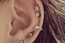 piercings and earings