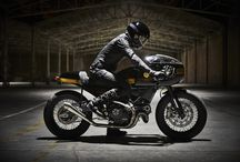Fuel Strada 800 / A Ducati Scrambler customized as a retro-classic cafe racer!