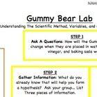 Teaching Gummi bears