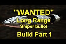 """WANTED"" movie prop Long Range Sniper Bullet /"