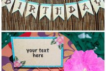 Kids Party Printables