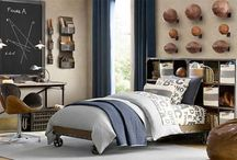 Teen science-themed bedrooms / Bedroom designs for kids who are big on science