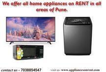 We offer all home appliances on RENT in all areas of Pune.