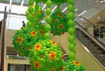 balloon ceiling art