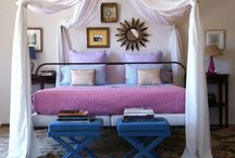 Bedroom in Provence / Four poster bed revisited.