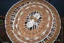 Tapas en cesteria / Modelos para tapas