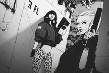 Art in Cyberpunk theme