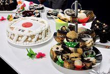 Biologische taarten,petit fours en hapjes
