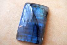 ラブラドライト(ブルー) - Labradorite, Blue Flash