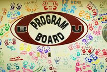 Program Board / Meeting new people, getting involved, and gaining experience hands on in a relaxed and fun environment. / by Bloomsburg University